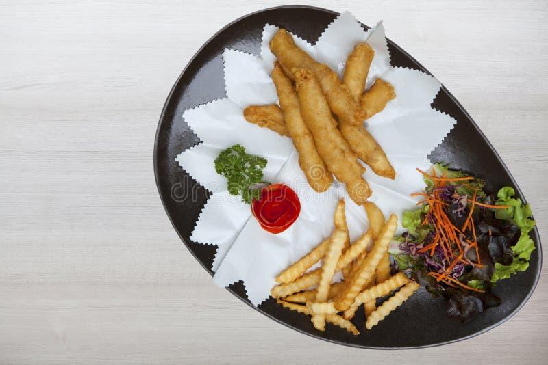 食物在旅馆和餐馆里 免版税库存照片