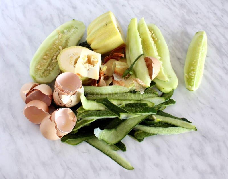 食物垃圾 免版税图库摄影