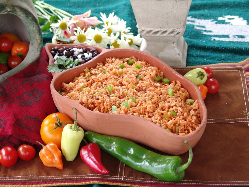 食物墨西哥 免版税库存图片