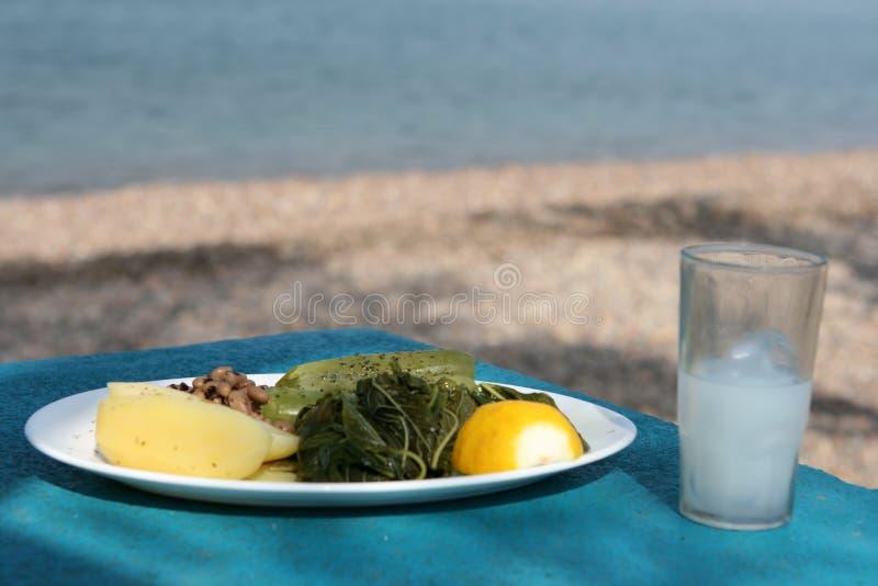 食物希腊 免版税图库摄影
