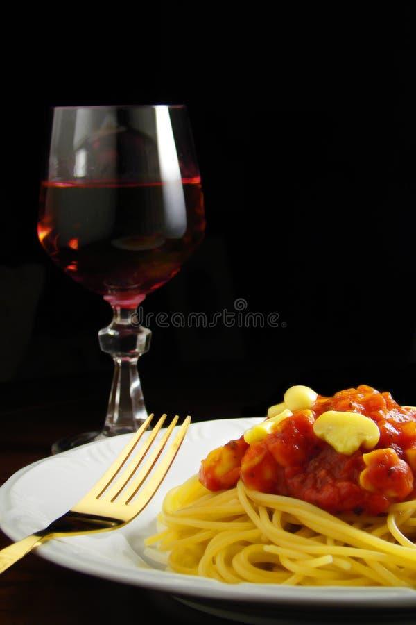 食物意大利语 库存图片