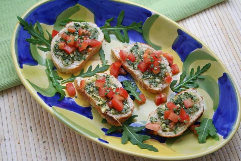 食物意大利语 库存照片