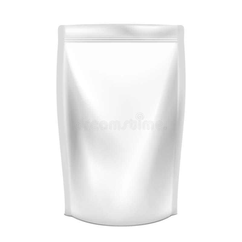食物或饮料 塑料组装 向量例证