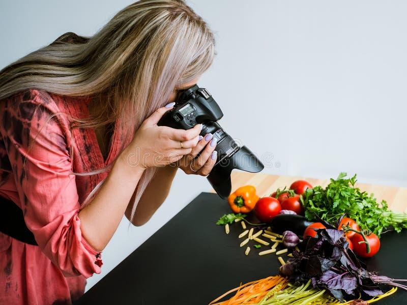 食物摄影博克美发师摄影师 图库摄影