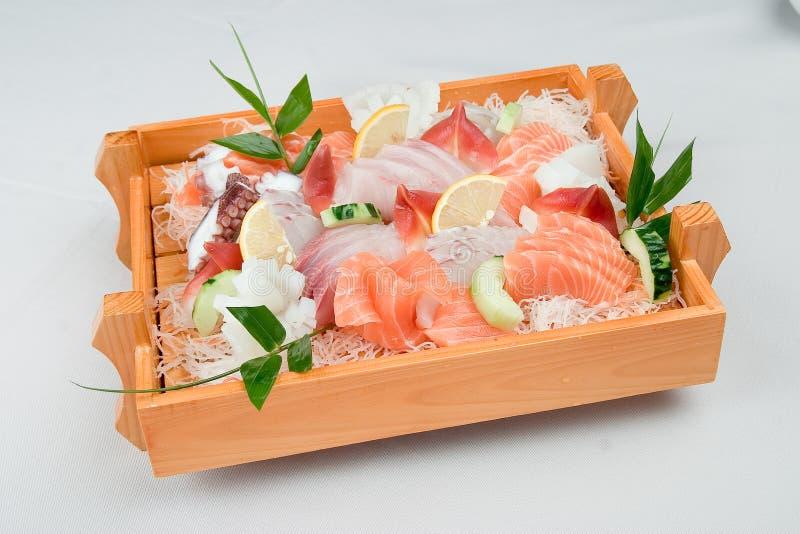 食物日本人寿司 图库摄影