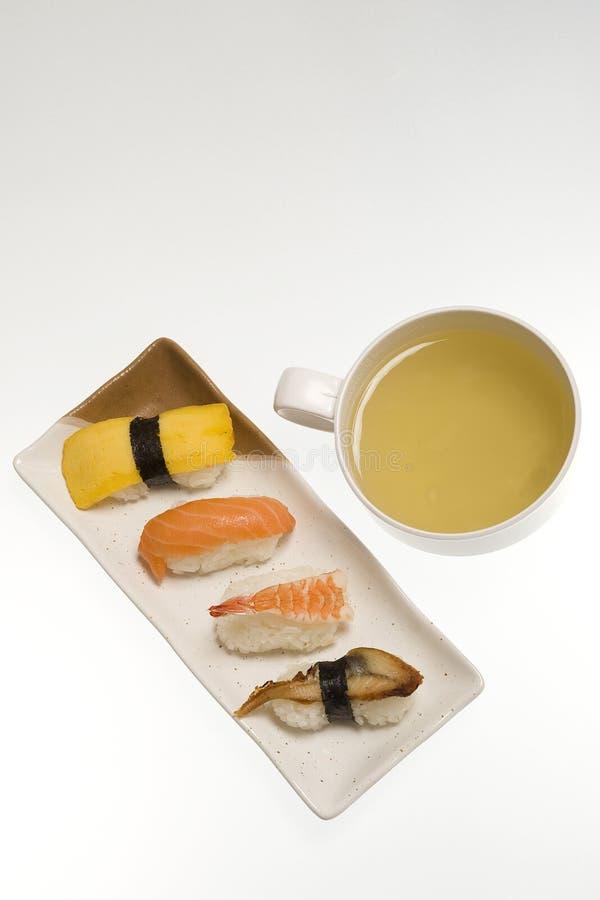 食物日本人茶 免版税库存图片