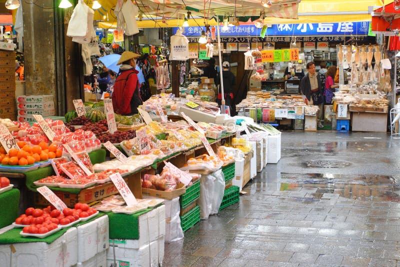 食物日本市场ueno 库存照片