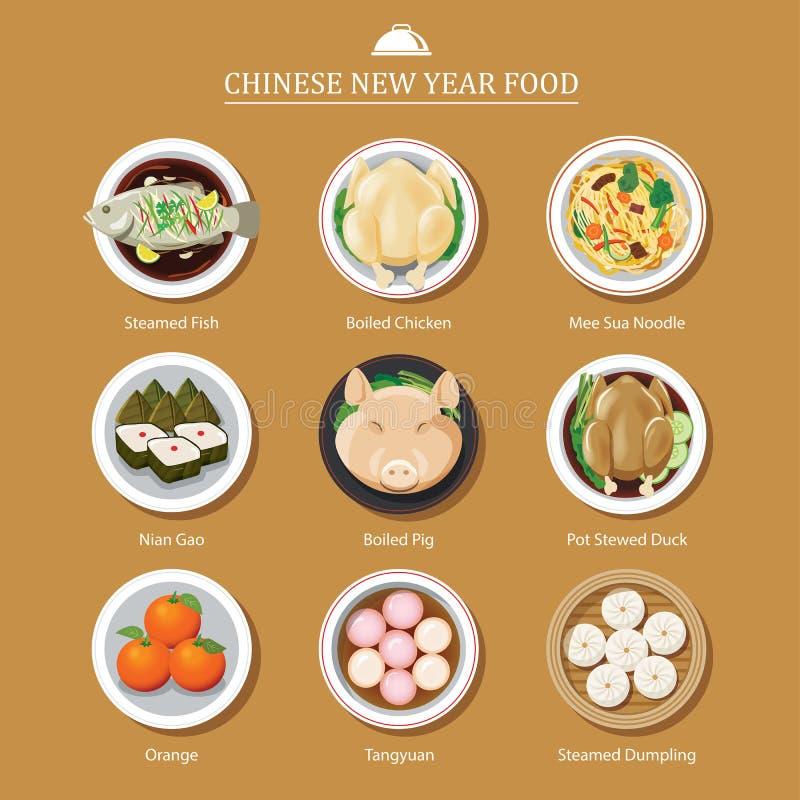食物春节 皇族释放例证
