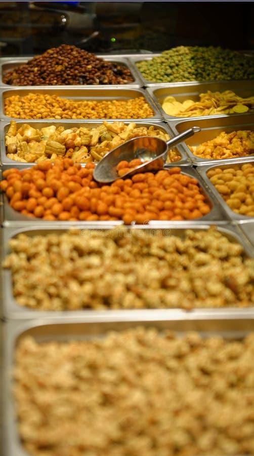 食物构成混杂的胡说的系列 免版税库存照片