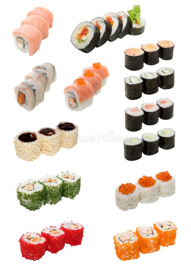食物查出的日本白色 免版税图库摄影