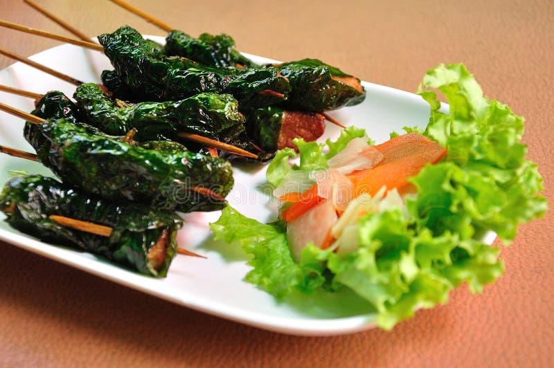 食物样式越南语 免版税库存图片