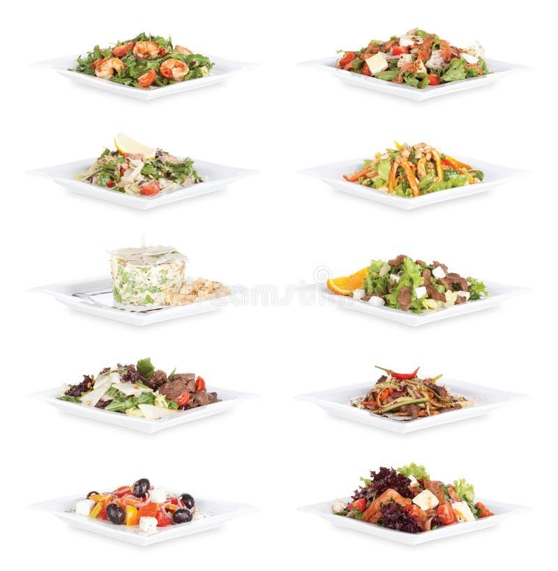 食物沙拉 免版税图库摄影