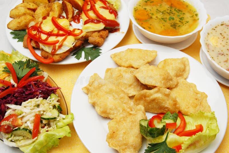 食物波兰 库存图片