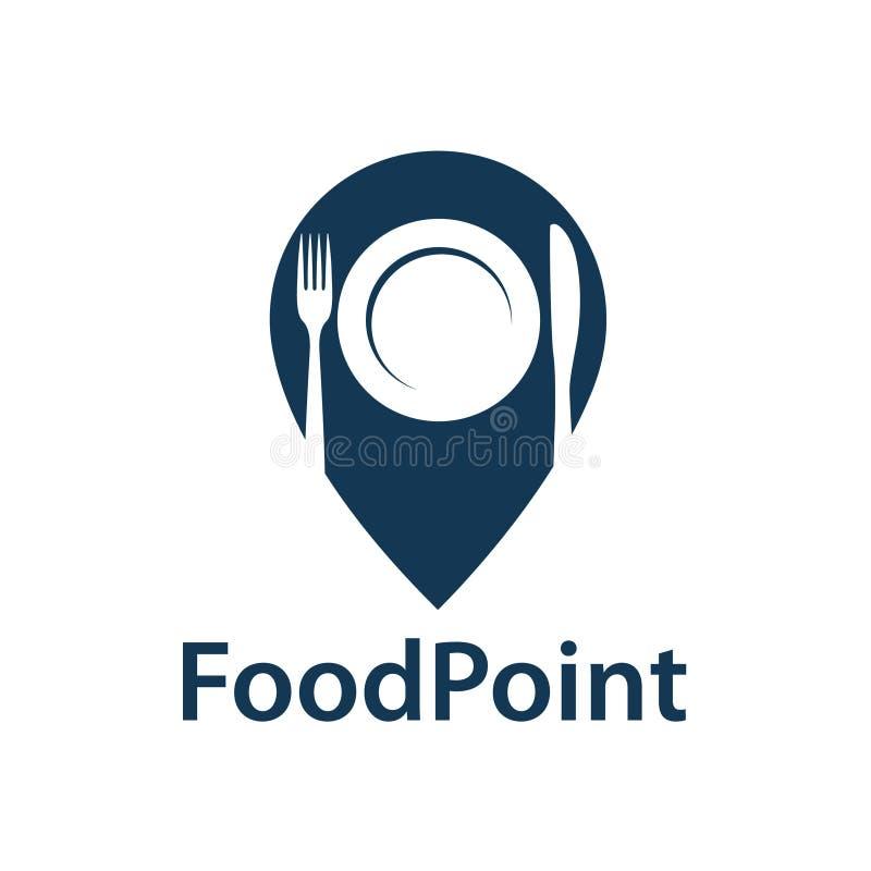食物点象 向量例证