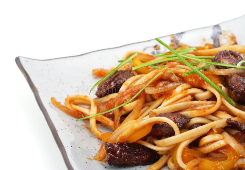 食物热日本牌照 免版税库存图片