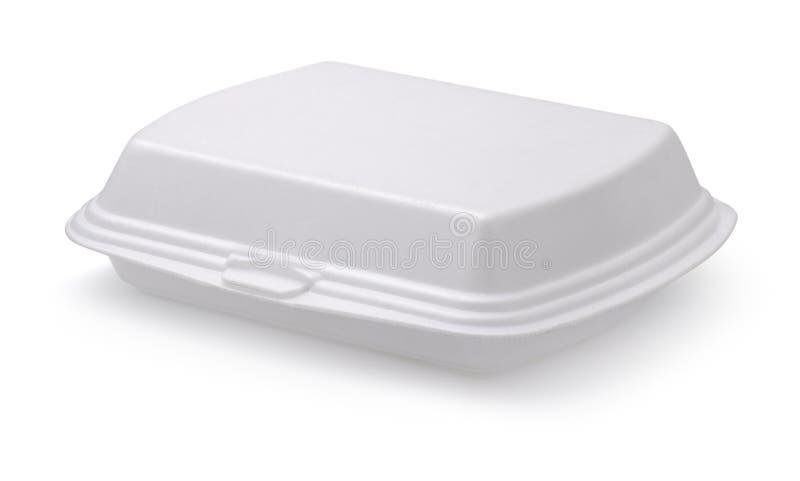 食物箱子 免版税库存图片