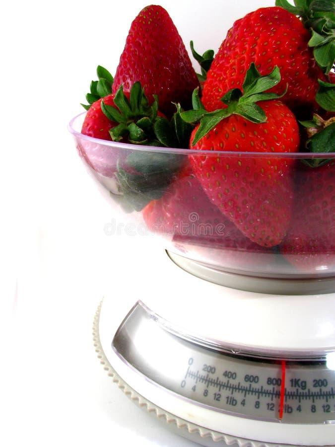 食物缩放比例草莓 库存图片