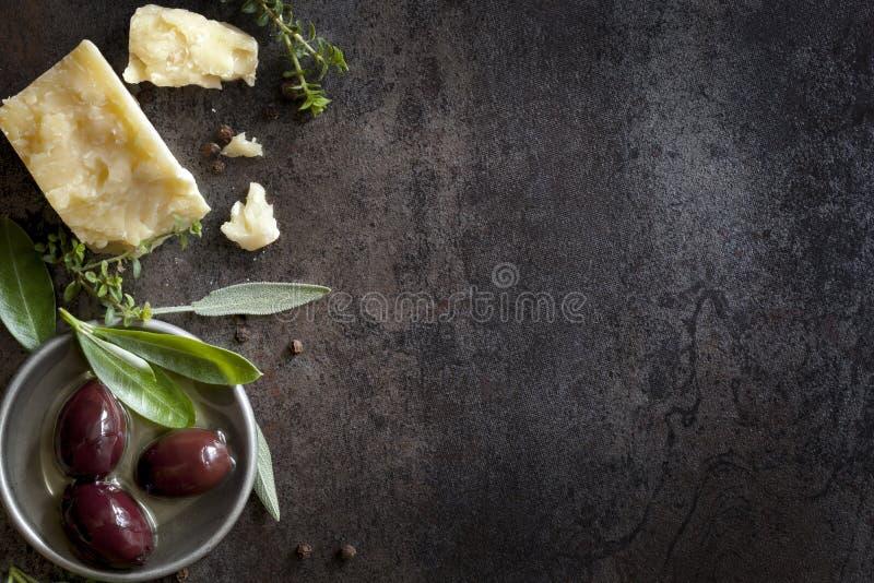 食物背景 免版税库存图片