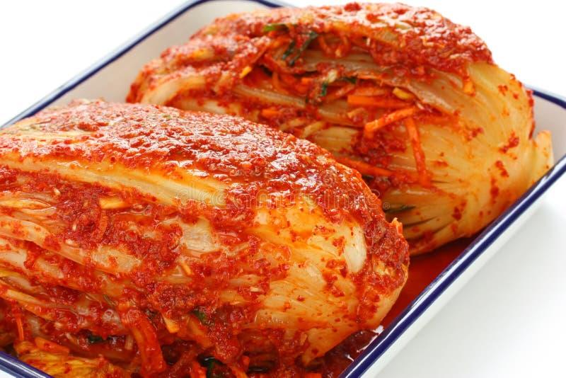 食物自创kimchi韩文 免版税库存图片