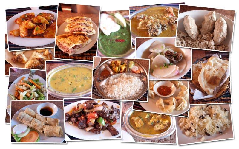 食物藏语 免版税库存照片