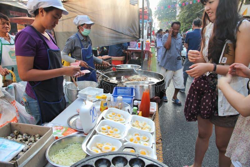 食物街道泰国 免版税图库摄影