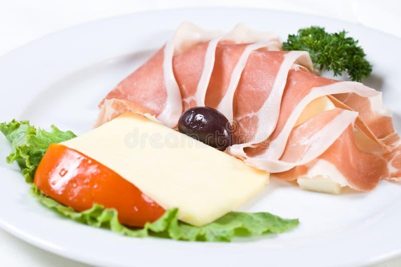食物餐馆 免版税库存图片