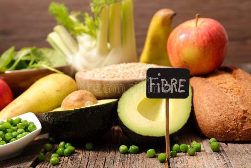 食物高在纤维 免版税图库摄影