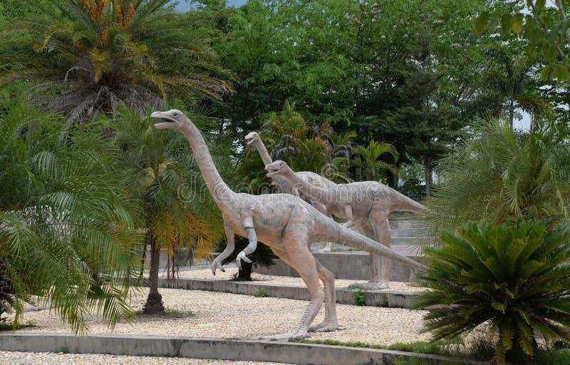 食草的恐龙 库存图片