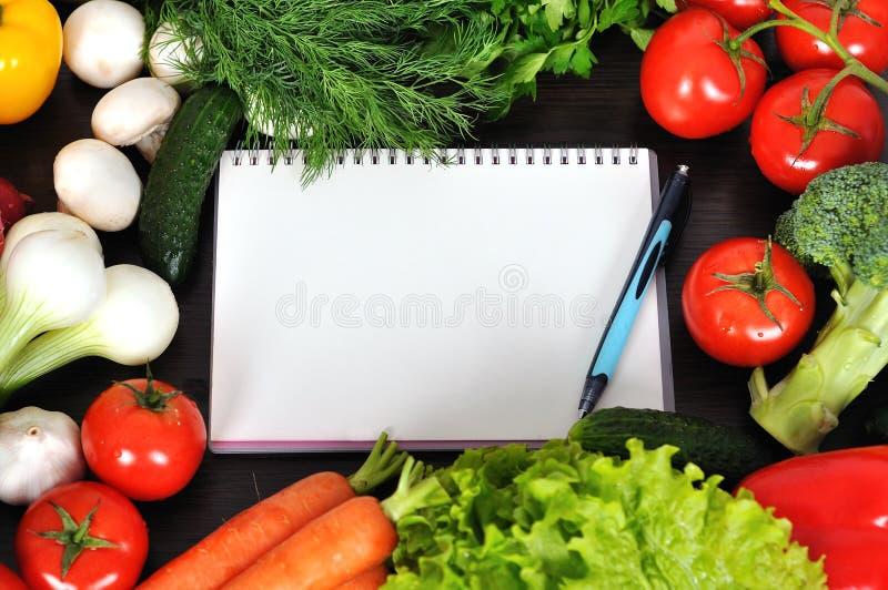 食谱书 免版税库存照片