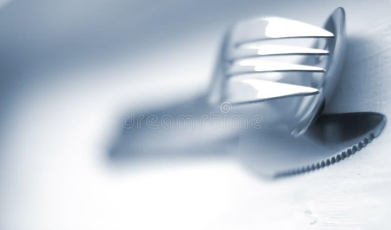 餐具 免版税图库摄影