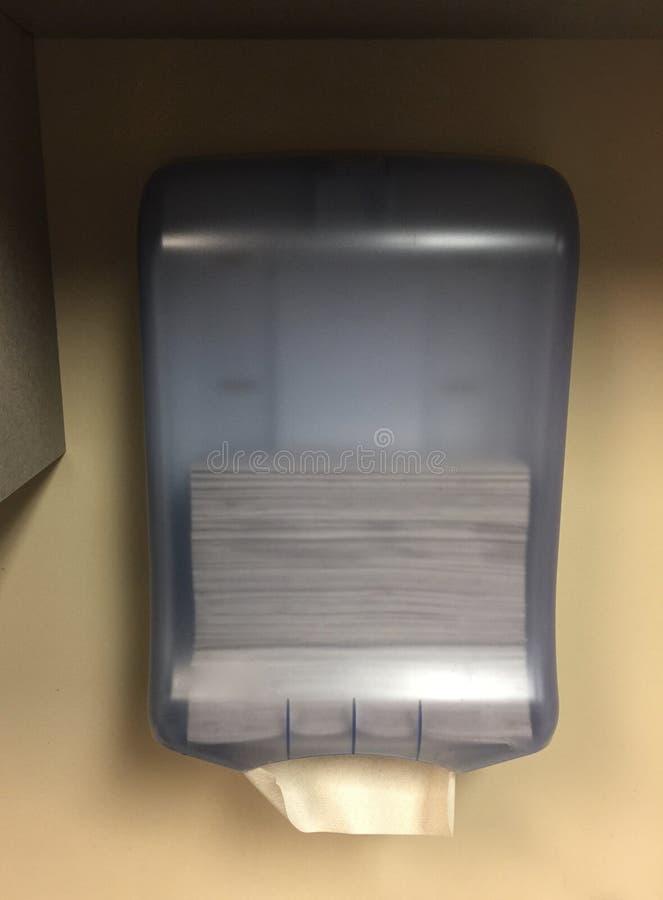 餐巾的毛巾纸分配器 免版税库存图片