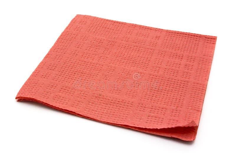 餐巾纸张 库存图片