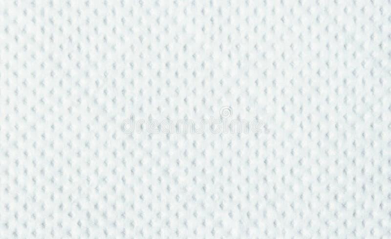餐巾纸纹理白色 库存照片