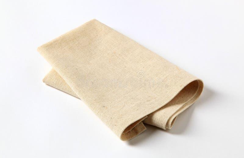 餐巾 免版税图库摄影
