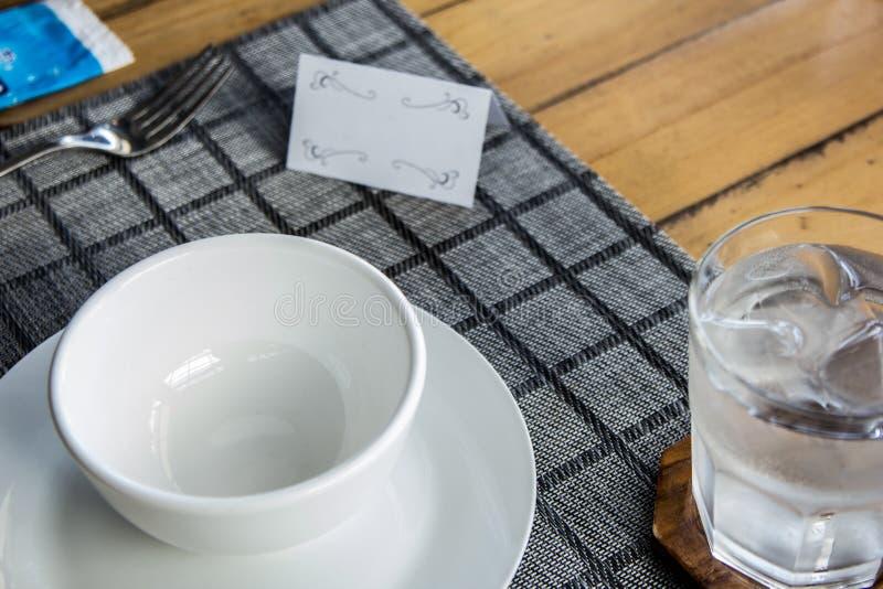 餐桌集合 免版税库存图片