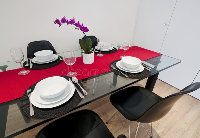 餐桌 免版税库存图片