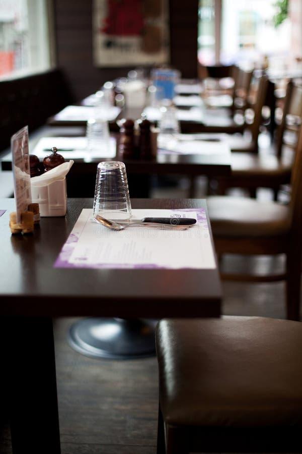 餐桌 免版税图库摄影