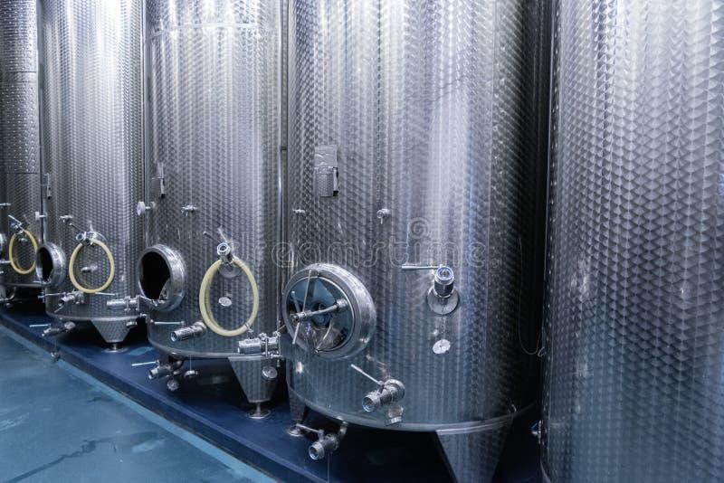 餐饮业的蒸馏设备 库存图片