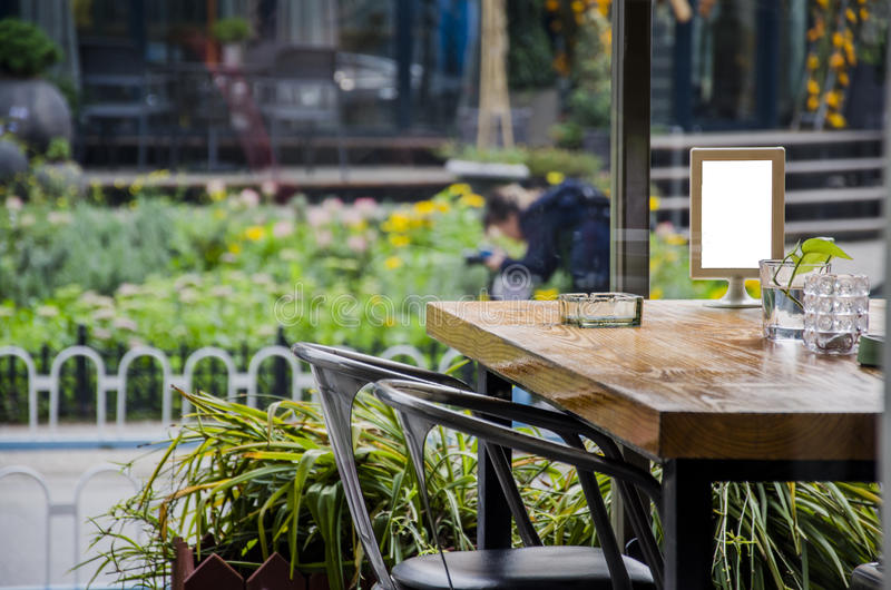 餐馆、酒吧、咖啡馆或者茶屋 免版税图库摄影