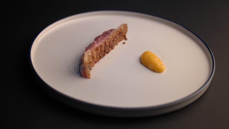 餐馆烹调 库存图片