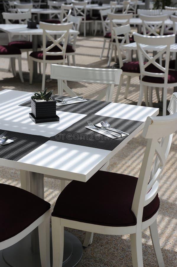 餐馆 免版税库存照片