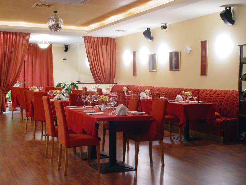 餐馆 库存照片