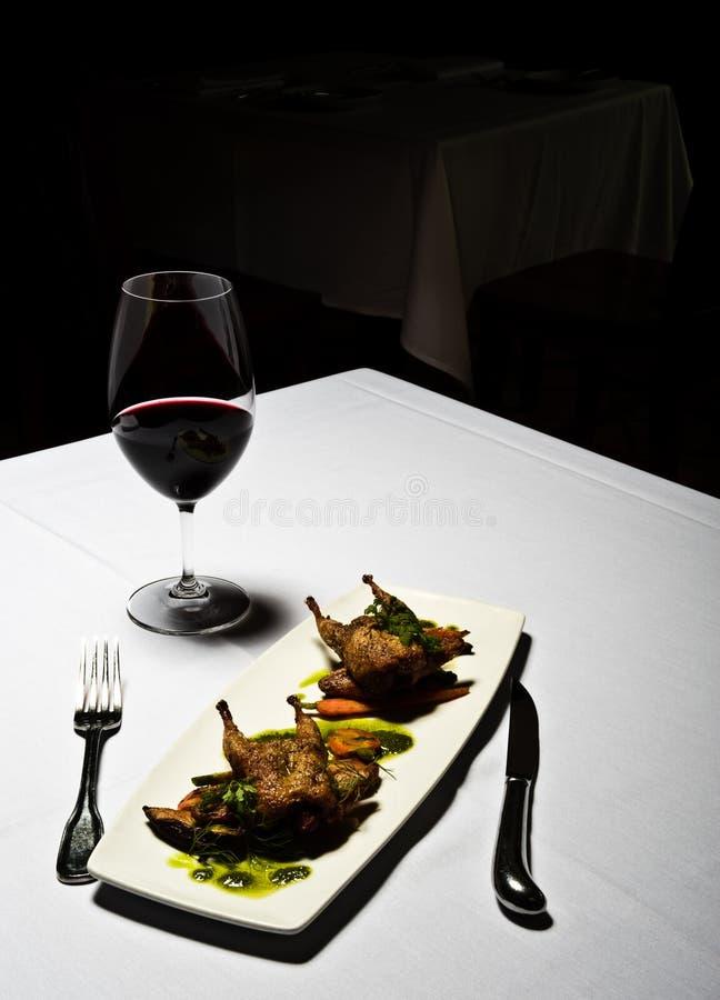 餐馆 免版税库存图片