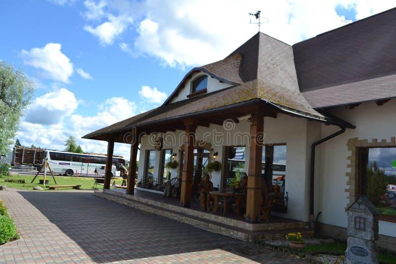 餐馆Raganas Kekis,拉脱维亚。 库存照片