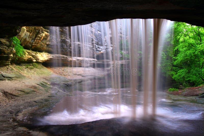 饥饿的岩石国家公园伊利诺伊 免版税库存图片