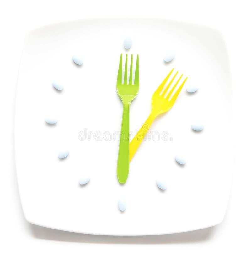 饭食治疗 库存图片