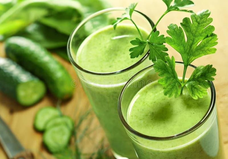 饮料健康蔬菜 图库摄影