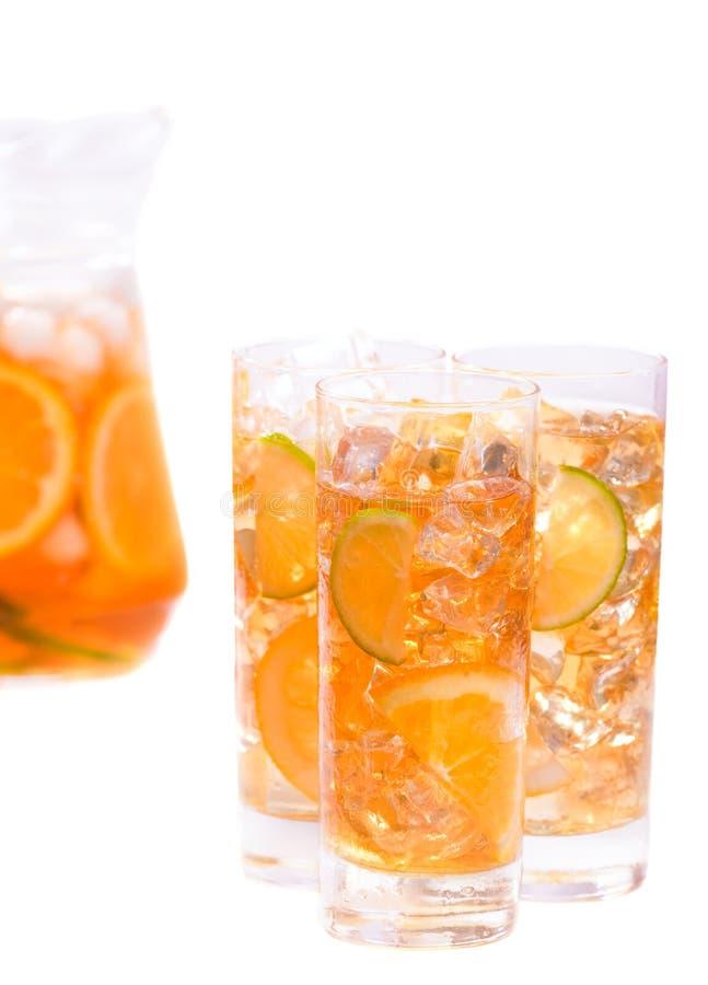 饮料冰刷新 免版税库存照片