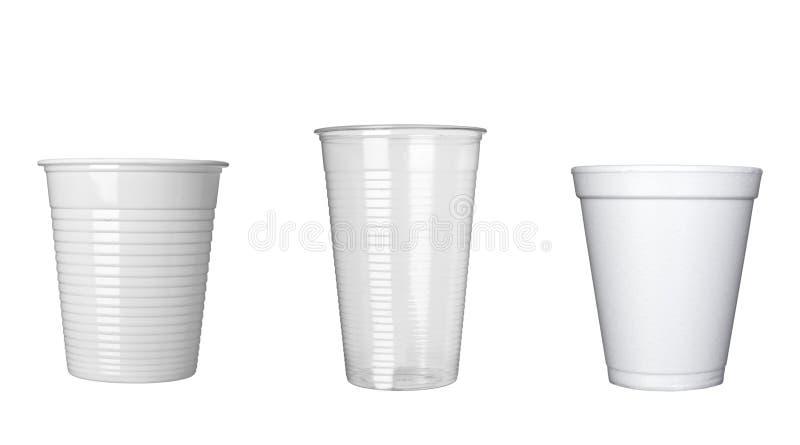 饮料咖啡杯D环形物食物办公室塑料 免版税库存图片