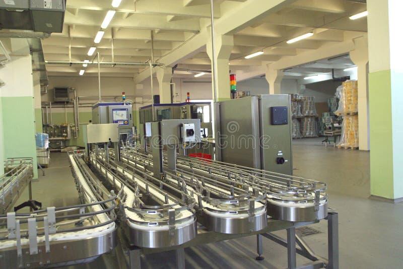 饮料汁液生产 图库摄影
